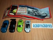 Porsche Complete Set With All Papers Tr040 - Tr043 Kinder Surprise 2012/2013