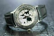 Ebel World Timer G.m.t Double Time Zone A Rotating Bezel - Ref 9124341