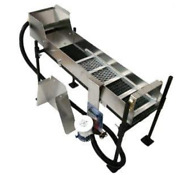 6 Mini Power Sluice Set Up Kit With Pump, Flare, Stand - Gold Mining Equipment