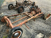Model A Ford Hot Rod Chassis W/flathead V859ab39 Transmission32-6 Front Axle
