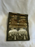 Antique Keystone View Co And Underwood/underwood Lot Of 20 Plus Stereoview Pics