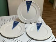 """3 Royal Doulton Metro Cafe Chop Plate Round Platter 12"""" Dinner Plates New W/ Tag"""