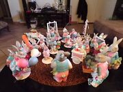 Dept. 56 Easter Carrot Patch Bunny Collection