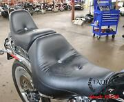 2007-2010 Harley Softail Custom King And Queen Driver Passenger Seat And Backrest