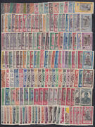 French India - 157 Different Stamp Mint Hinged Used Collection Cv 450+ - Z014