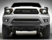 Front Grille Bumper Hood Grill Fit For 2012-2015 Toyota Tacoma W/letters Black