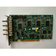 1pc Used Adlink Rtv-24 Pci-mp4s Image Acquisition Card Fast Shipxr