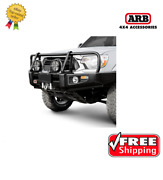 Arb 4x4 Accessories Front Deluxe Bull Bar For Nissan Frontier 2009-2012- 3438320