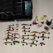 Lot Of Megabass Lures With Tackle Box Lure Cover Rare Japan Dhl F/s