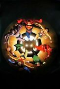 Alex Ross 2004 Silver Age Justice League Poster Undisplayed Rolled Superman