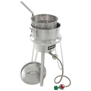10 Qt. Stainless Fish Cooker Kit