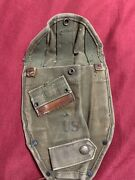 Original Wwii Us Army Military Folding Shovel Canvas Cover