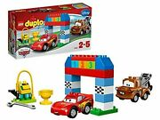 Lego Duplo Disney Pixar Cars Classic Race 10600 Mcqueen And Mater F/s W/tracking