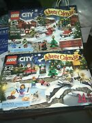 Lego 60099 And 60133 City Advent Calendar Christmas 2015 And 2016 Some Sealed