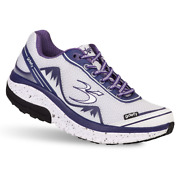 New Gravity Defyer Womenand039s Gdefy Mighty Walk Athletic Shoes In White/pruple