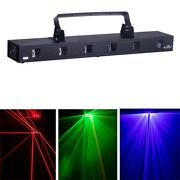 6w 6 Lens Full-color Rgb Laser Light Nightclubs Xmas Home Party Stage Dj Light