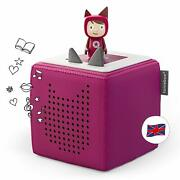 Toniebox Starter Set Incl 1 Creative Character Audio And Music Player