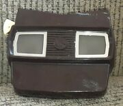 1942 Viewmaster Brown Bakelite Sawyers Inc. Portland Ore. Vtg Antique Old