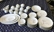 Fine China Riviera Vintage Kyoto Dinnerware 96 Piece From Japan Pre Owner