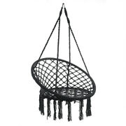 ⭐️⭐️⭐️⭐️⭐️ Usa Swing Chair Rope Hammock Hanging Seat Home Garden Indoor Outdoo