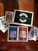 Looney Tunes Warner Brothers Chuck Jones 2 Decks Playing Cards 1993 In Box Hare