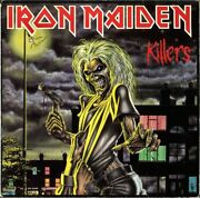 Iron Maiden Killers Fully Signed Vinyl Lp Clive Burr Paul Diand039anno Dave Autograph