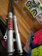 Yz 125 Yamaha 1987 Yz 125 1987 Front Forks Has One Bad Axle Cap Stud