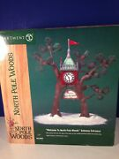 Dept 56 Welcome To North Pole Woods Gateway Entrance 56.56920 Brand New