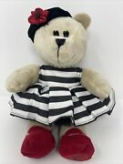 Starbucks Bearista 2013 Stacie Bendet Alice And Olivia Stuffed Toy 110th Edition