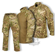 British Army 2018 Pcs Style Trousers Ubacs Shirt Mtp Pattern Issue Multicam