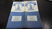 Public Timetables Boston And Maine Railroad October 30 1955