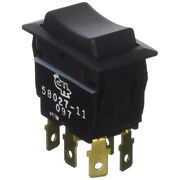 58027-11-bp Cole Hersee Sealed Rocker Switch Non-illuminated Dpdt On-off-o...