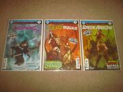 Gotham Resistance Comic Book Lot Nightwing 29 Suicide Squad 26 Green Arrow 32 Dc