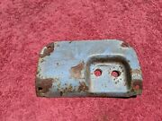 1940 1941 1942 1946 Chevy Gmc Pickup Truck Header Panel Wiper Cover Plate