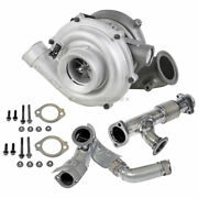 For Ford Excursion 6.0l Powerstroke 2003-04 Stigan Turbo W/ Charge Pipe Kit