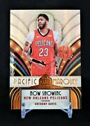 2017-18 Crown Royale Pacific Marquee 41 Anthony Davis Case Hit Ssp