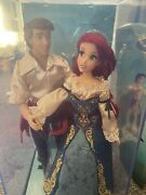 Disney Ariel And Eric Designer Collection Limited Edition Doll