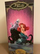 Disney Fairytale Designer Collection Doll Ariel And Ursula Limited Edition