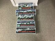 Hess Truck Collection 2009-2013 Nib Never Opened