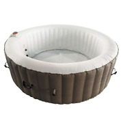 6-person 130-jet Inflatable Hot Tub Spa With Cover