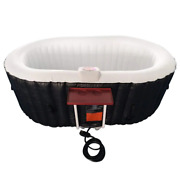 2-person 130-jet Inflatable Hot Tub With Drink Tray And Cover