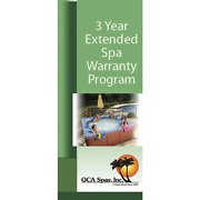Extended 3 Year For Qca Spas