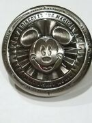 Disney Mickey Mouse Metal Dual Bottle Opener Refrigerator Magnet Excellent Used