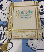 Disney Parks Snow White And The Seven Dwarfs Storybook Style Journal Book