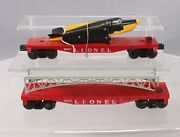 Lionel O Vintage Assorted Freight Car Lot 6825, 6800 [2]