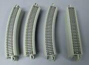 Bachmann Ho Scale Ez-track 18 Curve And Straight Sections W/ns Rails [34]