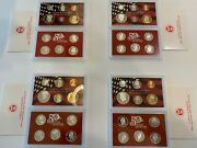 2004-s 90 Silver Proof Set United States Mint Original Government Box Sets