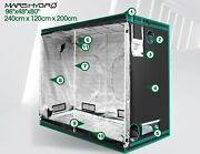 Full Led Indoor Growing System Tent For Hydroponic Plants And Flowers Gardening