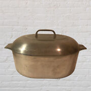 Vintage Wagner Ware Sidney O Aluminum Magnalite 4265-p Roaster Dutch Oven And Lid