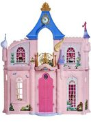 Disney Princess Comfy Squad Castle Dollhouse 3.5 Feet Tall With 16 Accessories